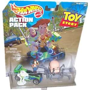 Hot Wheels Action Pack TOY STORY with RC CAR, BABY FACE