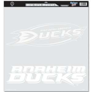Wincraft Anaheim Ducks 18x18 Die Cut Decal   Anaheim Ducks