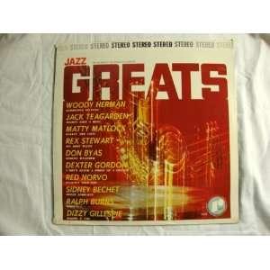 Jack Teagarden, Sidney Bechet, Dizzy Gillespie Woody Herman Music