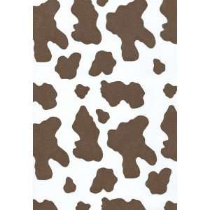 Cow Hide Gift Wrapping Paper 26 X 6