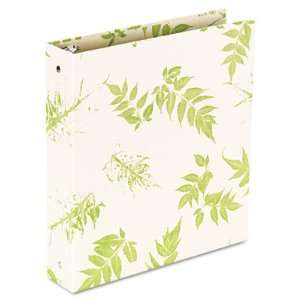 Aurora Products Round Ring Binder, 1 Inch Capacity, Bamboo