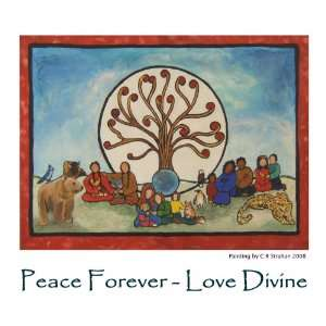 Peace Forever   Love Divine (The Art of C R Strahan Note