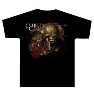 COHEED AND CAMBRIA   No World For Tomorrow   Black T shirt Clothing