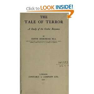 The Tale Of Terror; A Study Of The Gothic Romance: Edith