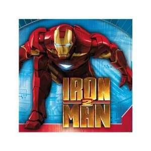 Iron Man 2 Birthday Party Napkins   Flying