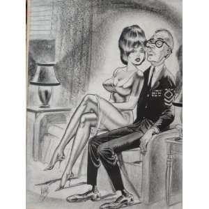Bill Ward Artwork Original