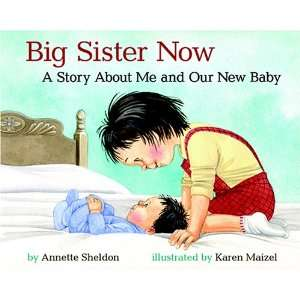 Big Sister Now A Story about Me and Our New Baby