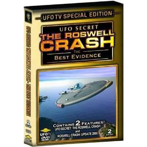 UFO Secret The Roswell Crash   The Best Evidence, 2 DVD