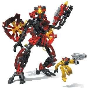 Mega Bloks   Neo Shifters Robot  Blaze Axx  Red Templar Warrior  Toys