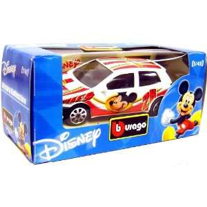 43 Scale Diecast Car Mickey Mouse [White Paint Job]