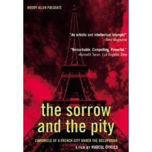 The Sorrow and the Pity [VHS] Georges Bidault, Maurice