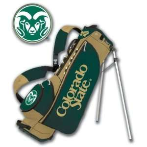 Colorado State Collegiate Stand Golf Bag  Sports