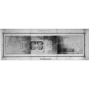 The basement plan of the Imperial Military Academy Home & Kitchen