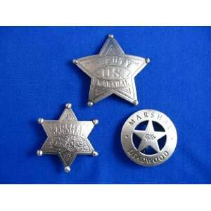 Pack Lot of Old West Western Marshal Badge Replicas: Everything Else