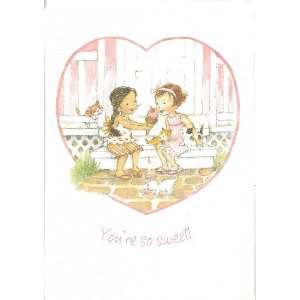 Youre so Sweet Valentine Cards with Scripture   Pkg. Of