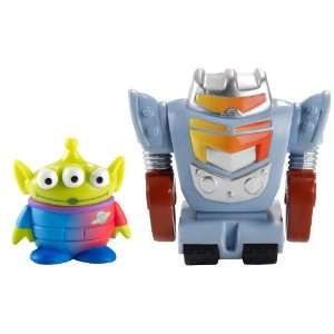 Toy Story Color Splash Buddies Alien and Robot 2 Pack