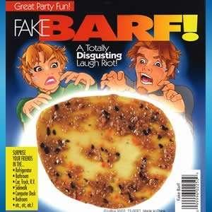 Fake Vomit Toys & Games