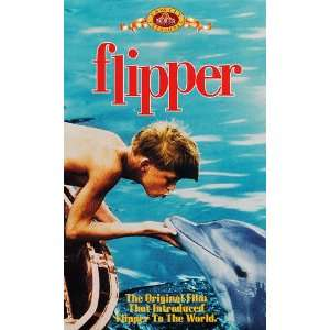 Flipper [VHS]: Chuck Connors, Luke Halpin, Connie Scott
