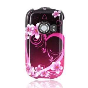 WIRELESS CENTRAL Brand Hard Snap on Shield With PINK LOVE
