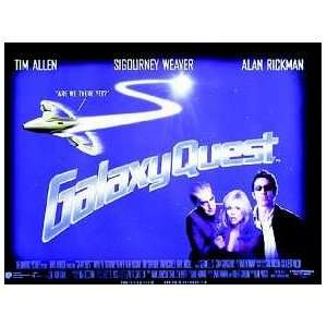 GALAXY QUEST ORIGINAL MOVIE POSTER
