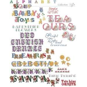 Alphabet Soup Embroidery Designs on CD from the Vermillion