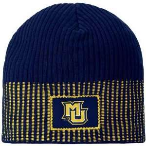 Nike Marquette Golden Eagles Navy Blue All Nighter Beanie