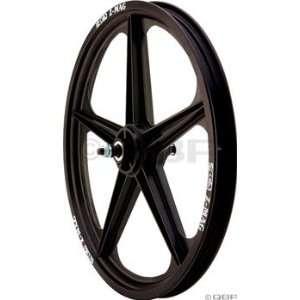 ACS Z Mag Front Wheel 5 Spoke, 20 x 1.75, Black Sports