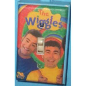 Wiggles Single Light Switch Cover   Anthony & Greg