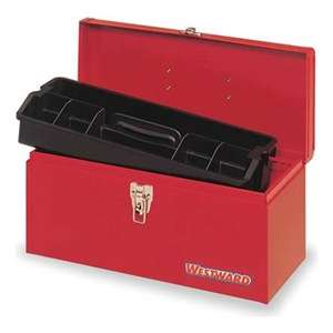 Westward 5HM77 Metal Tool Box, 16 In Be the first to write a review