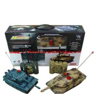 Infrared Combat RC Battle Tank Toys (Twin Pack)