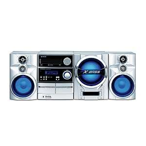 Sharp 450 Watt Mini Stereo System with 5 CD Disc Changer and Subwoofer