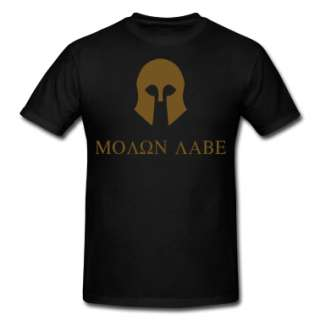 Molon Labe  Mens Heavyweight T Shirt designed by SymbolGrafix