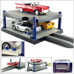 Battery Operated Car Lift For 1/24 Scale Cars Goes Up And Down Rotates