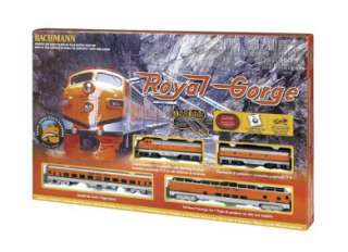 HO Scale Train Set Analog Royal Gorge 00689 (022899006895)
