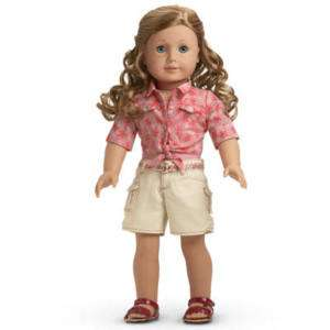 American Girl Doll NICKI Nickis TIE TOP SHORTS Outfit