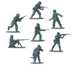 144 NEW GREEN PLASTIC ARMY MEN TOY ARMYMEN SOLDIERS