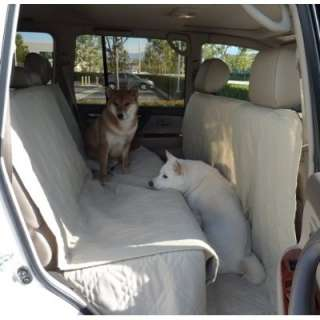 Dog Cat Car Seat Cover. With Extra Length Coverage