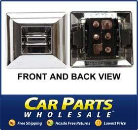 NEW WINDOW SWITCH CLEARANCE CHROME DODGE CHARGER CAR