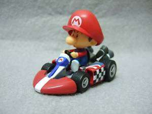 Japan Wii Mario Kart Pull Back Car Baby Mario on Kart