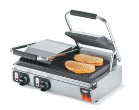 40795 Commercial Cast Iron Panini Grill NEW 029419719907