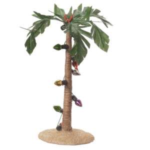 Palm Tree with Lights Christmas Tree Ornament CF 580