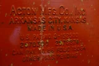 VINTAGE 1950S COCA COLA COOLER ICECHEST BOTTLE OPENER DRAIN ACTON