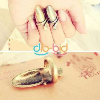 Elegant Punk Cool Finger Nail Snake Design Ring Gift New Hot