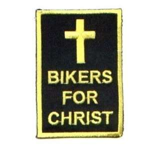 For Christ Christian Embroidered Biker Patch!!!!: Everything Else