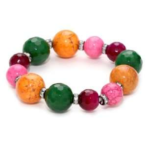 Tova Jewelry Neon brights Multi Colored Chunky Bracelet Jewelry