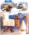 SNOW RACE Hot Wheels Racing Kits Collectors Playset New