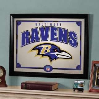 NFL   Baltimore Ravens Framed Mirror