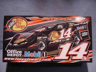PRO SHOPS DIRT LATE MODEL CAR PRELUDE DREAM RACE 1:24 DIECAST