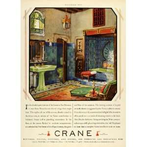 1928 Ad Crane Interior Design Bathroom Home Decoration