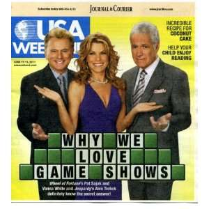 June 17 2011 Pat Sajak & Vanna White/Wheel of Fortune & Alex Trebek